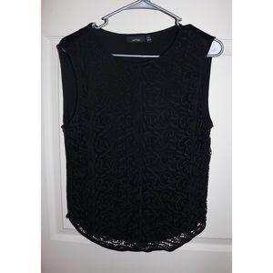 Apt.9 sleeveless lace blouse